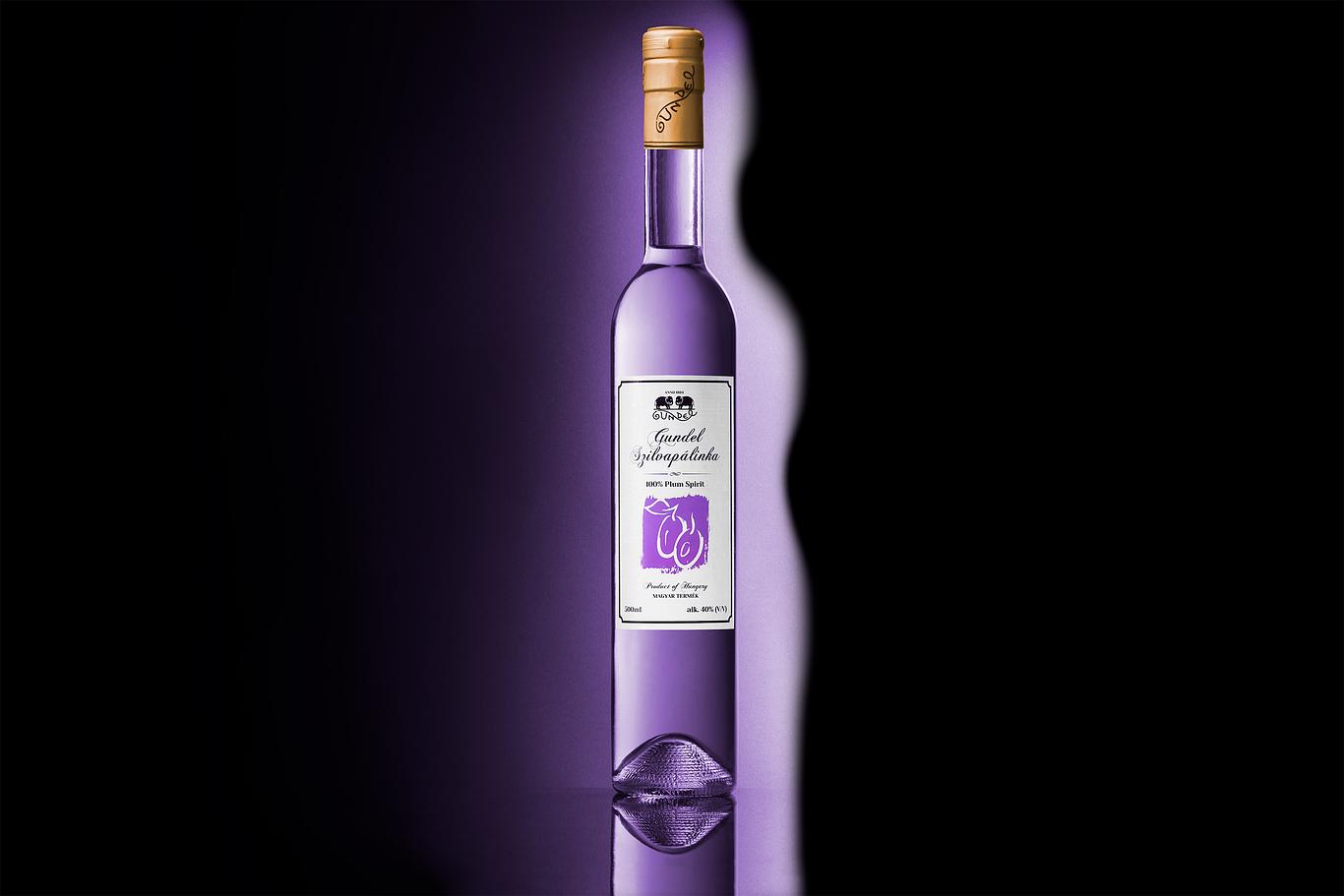 termékfotók-kreatív-pálinka-ital-lila-szilva